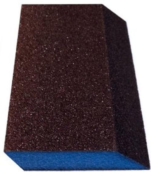 Webb Double Slant Blue Block Drywall Sanding Sponges, Medium/Fine (WEBB-DS-MF-G)