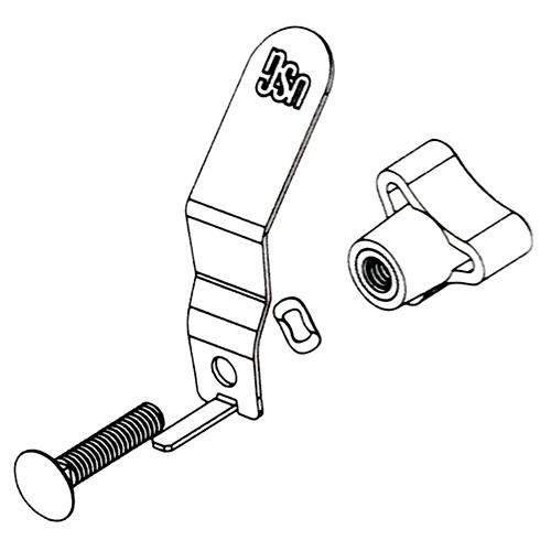 USG Sheetrock Hopper Gate Hardware Kit (USG-340335)