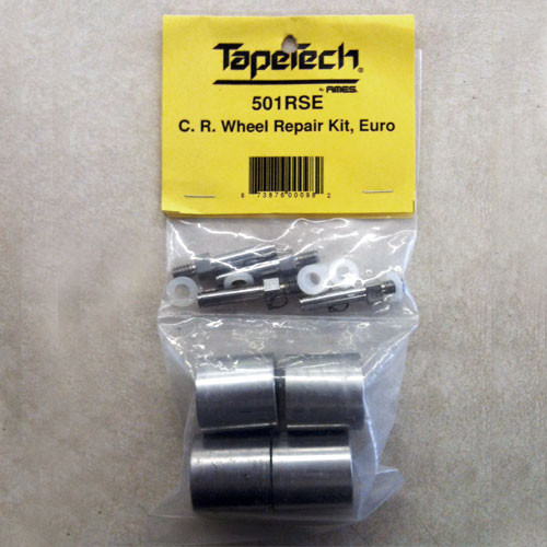 TapeTech Corner Roller Wheel Repair Kit - Euro (TAPE-501RSE)