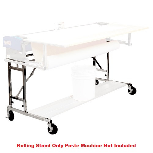 Advance 62 in. Paste Mate Rolling Stand fits Model B562-HD Pasting Machine (Pasting Machine, Booking Table, and Transportation Shelf sold separately)