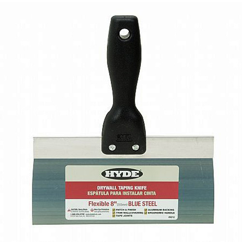 "Hyde 8"" Taping Tiger Taping Knife, Blue Steel (HYDE-09212)"