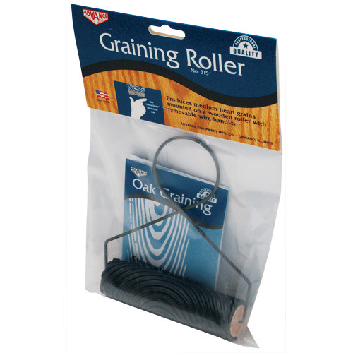 "Advance 5"" Graining Roller, Rubber with Wire Handle (ADVA-315)"