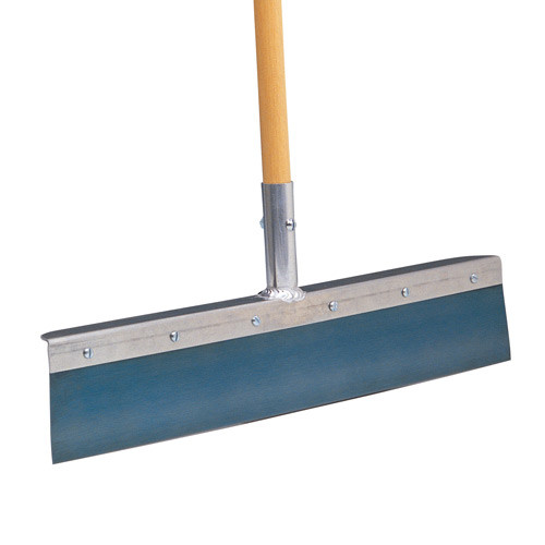 Wal-Board 22 in. Blue Steel Wall Scraper with 48 in. Wood Handle WS-7 (WALB-30-001)
