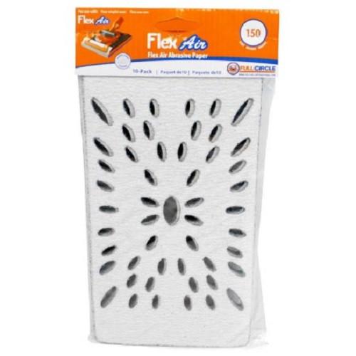Full Circle 150 Grit Flex Air Stearated Sandpaper Sheet for Flex Air - 10 pack (FULL-FLEXAIR 150)