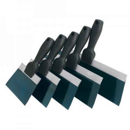 Advance Slimline Textured Handle Taping Knives- Blue Steel (ADVA-34406, 34408, 34410, 34412, 34414)