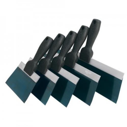 Advance Slimline Textured Handle Taping Knives- Blue Steel (ADVA-34406, 34408, 34410, 34412, 34414)