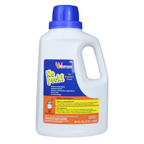 Warner No Pock Pro 64 FL. OZ. Drywall Mud Additive (WARN-96)