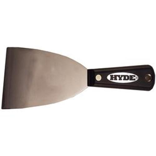 Hyde 3 in. Flexible Black & Silver Joint Knife (HYDE-02350)