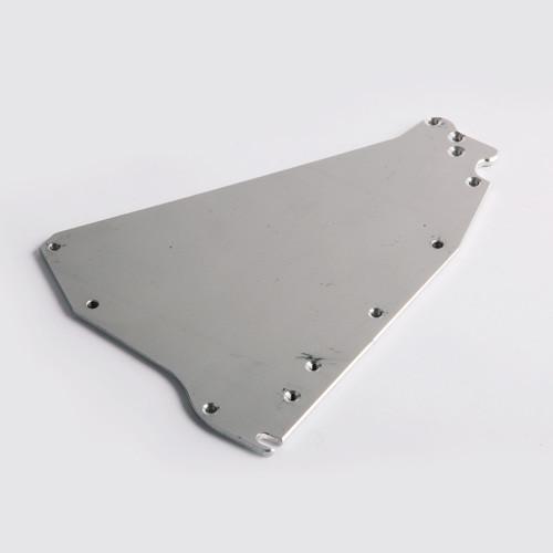 Columbia FatBoy Flat Box End Plate (Left) (COLM-HFBB3A-8, HFBB3A-10, HFBB3A-12)