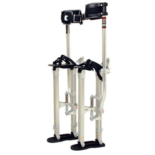 SurPro Interlok Aluminum Drywall Stilts, Adjustable Height 18-30 in. (SURP-SS1830AP)
