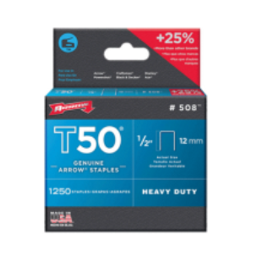 Arrow T50 1/2 Staples (ARRO-508)