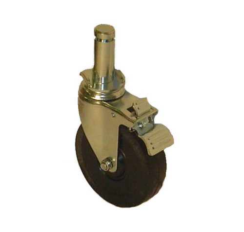 "Perry 5"" Locking Caster by Nu-Wave (PERR-PC5B-S)"