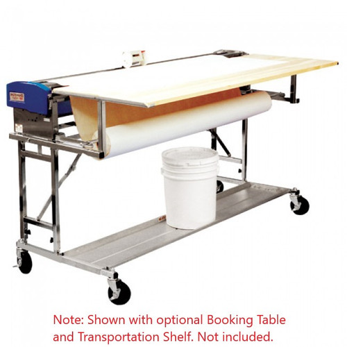 Advance 62 in. Paste Mate Heavy Duty Pasting Machine (Model B562-HD) comes with Rolling Stand and Two-Wheel Measuring Counter (Booking Table and Transportation Shelf are sold separately)
