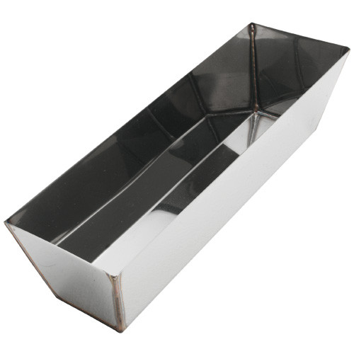 "Advance 12"" Heliarc Stainless Steel Mud Pan 12H"