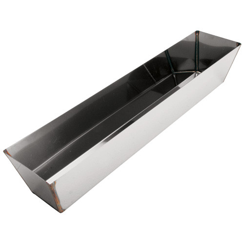"Advance 18"" Heliarc Stainless Steel Mud Pan 18H"