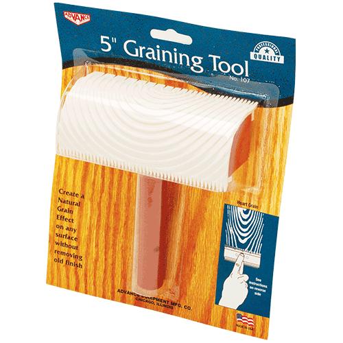 "Advance 5"" Wood Ring Graining Tool 107"
