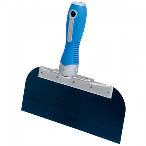"Advance 8"" Cool Grip II Offset Taping Knife - Blue Steel OSG-8"