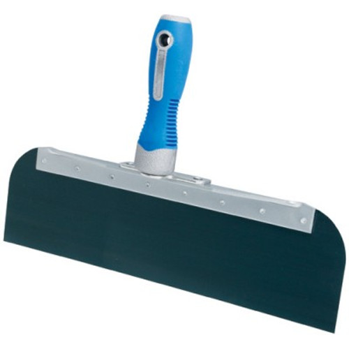 "Advance 12"" Cool Grip II Offset Taping Knife - Blue Steel OSG-12"