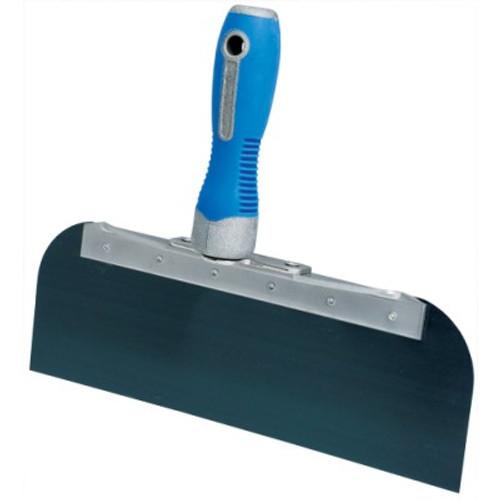 "Advance 10"" Cool Grip II Offset Taping Knife - Blue Steel OSG-10"