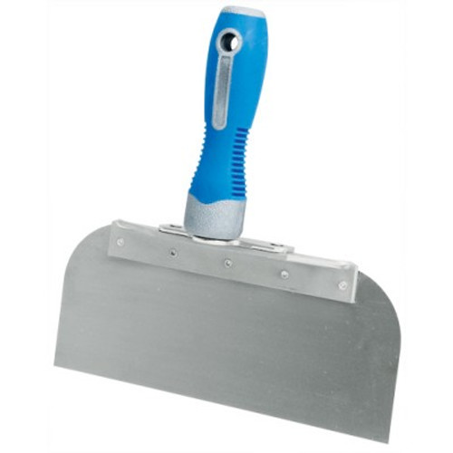 """Advance 8"""" Cool Grip II Offset Taping Knife - Stainless Steel OSG-8SS"""