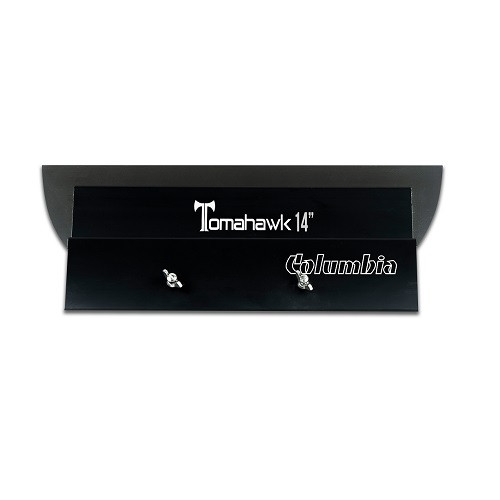 Columbia 14 in. Tomahawk Smoothing Blade is a light, durable, and highly professional wiping and finishing tool made from solid billet aluminum with an interchangeable blade