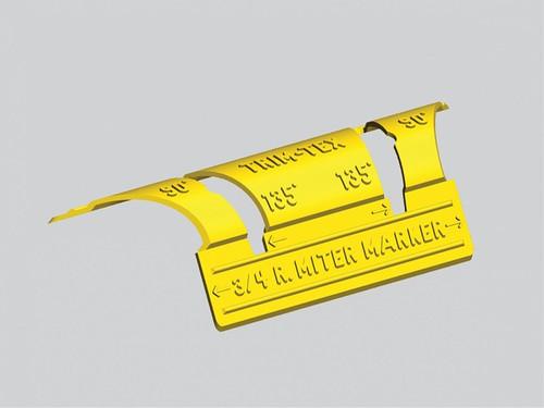 """Trim Tex 3/4"""" Radius Bullnose Miter Marker (TRIM-0932)"""