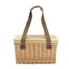 Sorrento Trekk Wicker Cooler Basket - Custom branded by Supply Crew Front