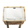Sorrento Trekk Wicker Cooler Basket - Custom branded by Supply Crew - Inside