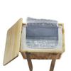 Sorrento Trekk Wicker Cooler Basket - Custom branded by Supply Crew - Inside - Openb
