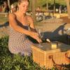 Sorrento Trekk Wicker Cooler Basket - Custom branded by Supply Crew