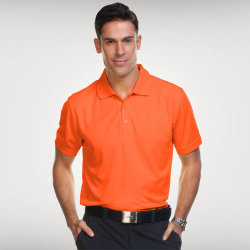 Sporte Leisure Aero Polo Shirts in Blaze, for your company or team logo. Sophisticated Lifestyle Apparel keeps your team or company looking their best. Sporte Leisure Aero Polo's are available in 13 colours. A fantastic polo and great value for company uniforms, trade shows, events, golf day's & retail.