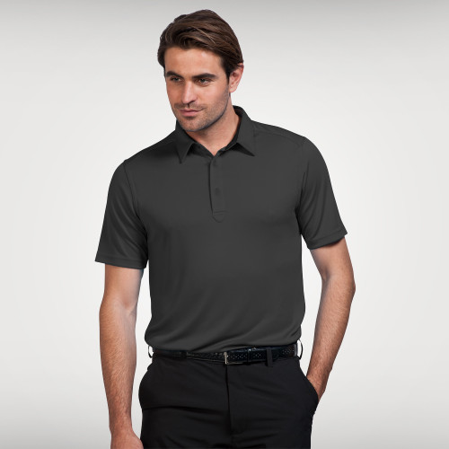 Sporte Leisure Mens Duke Polo Shirt in Charcoal, for your company or team logo. Sophisticated Lifestyle Apparel keeps your team or company looking their best. Sporte Leisure Duke Polo's are available in 9 great colours. A fantastic polo and great value for company uniforms, trade shows, events, golf day's & retail.