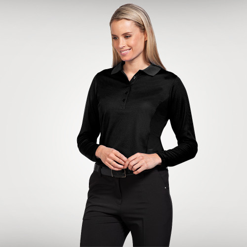 Ladies Longsleeve Aero Polo