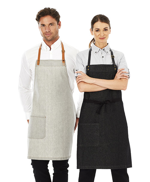 Byron denim apron