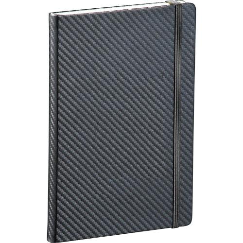 Ambassador Carbon Fibre 5 x 7 JournalBook - Custom branded by Supply Crew