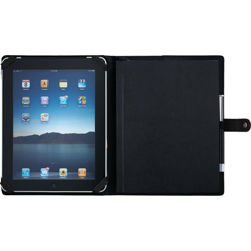 Pedova ETech JournalBook with Snap Closure - Custom branded by Supply Crew