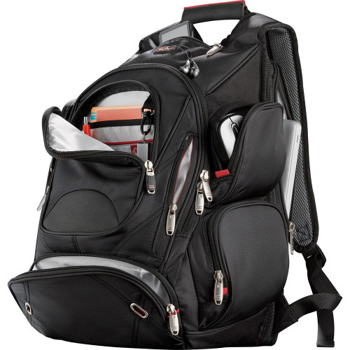 Elleven™ Checkpoint-Friendly Compu-Backpack - Custom branded by Supply Crew
