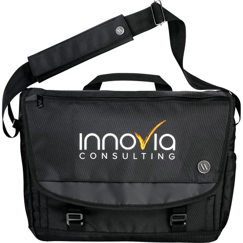 Elleven Evolve 15 Computer Messenger - Custom branded by Supply Crew