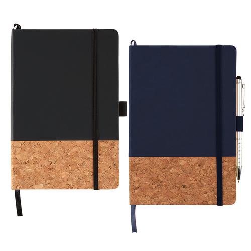 Lucca Hard Bound JournalBook - Custom branded by Supply Crew