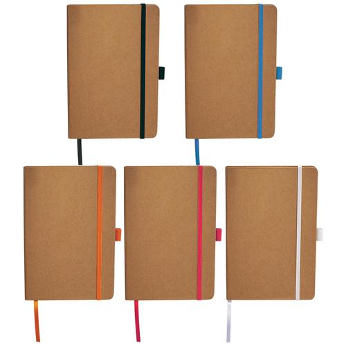 Eco Colour Bound JournalBook - Custom branded by Supply Crew