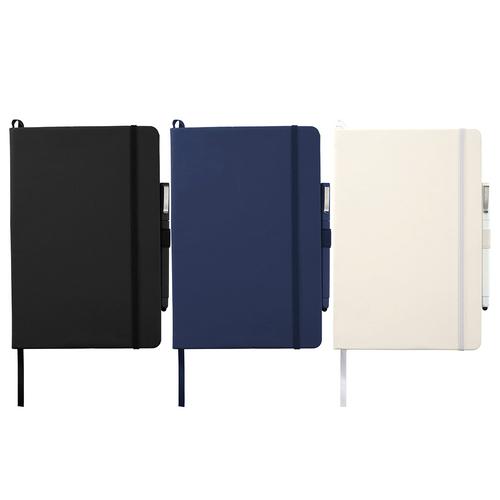 Vienna Large Hard Bound JournalBook - Custom branded by Supply Crew