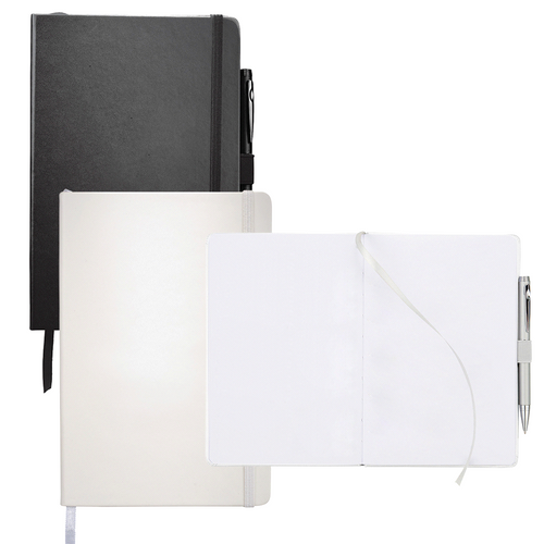 Nova Bound JournalBook with Blank Pages - Custom branded by Supply Crew