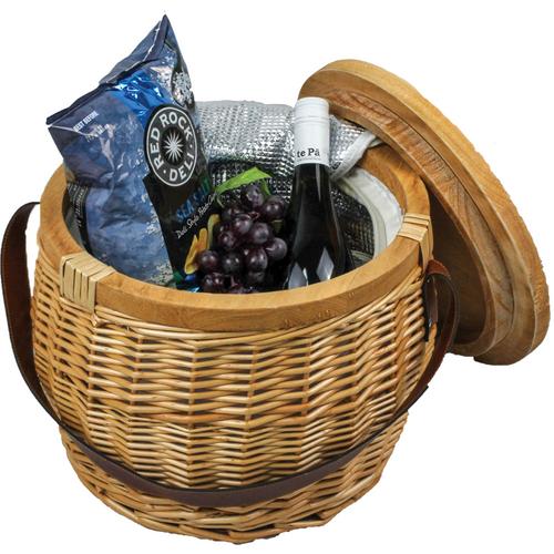 Trekk Wicker Basket - Custom branded by Supply Crew