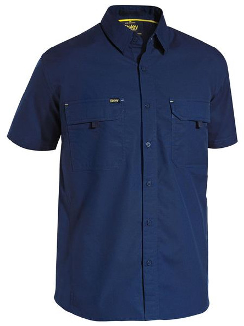 X AIRFLOW™ Ripstop Mens Work Shirt - Short Sleeve