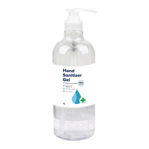 1L Hand Sanitiser Gel - 75% Alcohol