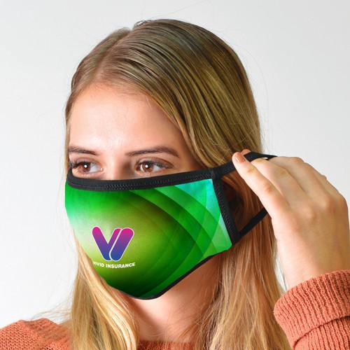 Custom Printed Washable Cotton Face Mask