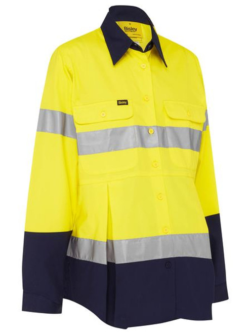 3M Taped Hi Vis Maternity Drill Shirt