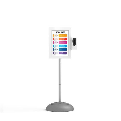 Automatic Hand Sanitiser Dispenser Station with 1080p Digital Kiosk
