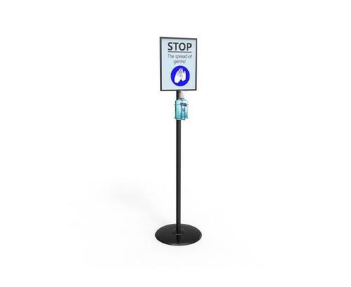 Metal Hand Sanitiser Dispenser Stand