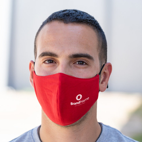 Reusable hygienic mask double-layer polyester